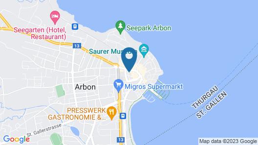 3 Bedroom Apartment in Arbon Map