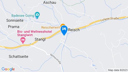 Mountain-view Apartment in Going am Wilden Kaiser Near Ski Area Map
