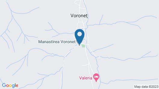 Vila Turistica Carmen Silvae Map