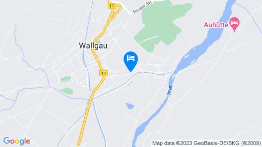 Hotel Wallgauer Hof Map