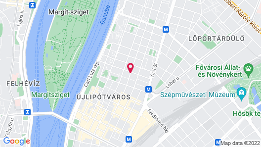 Adina Apartment Hotel Budapest Map