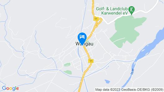 Parkhotel Wallgau Map