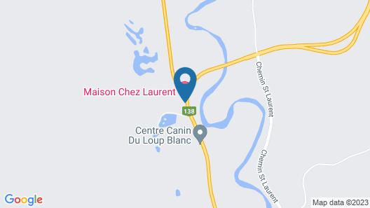 Chalets Maison Chez Laurent Map
