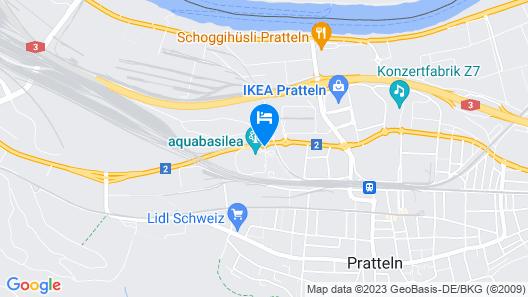 Courtyard by Marriott Basel Map