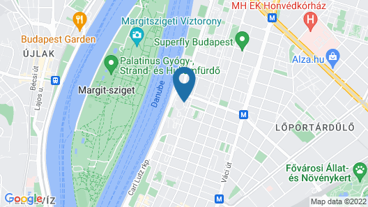 Danubius Hotel Helia Map