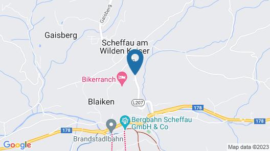 Hotel Kaiser in Tirol Map