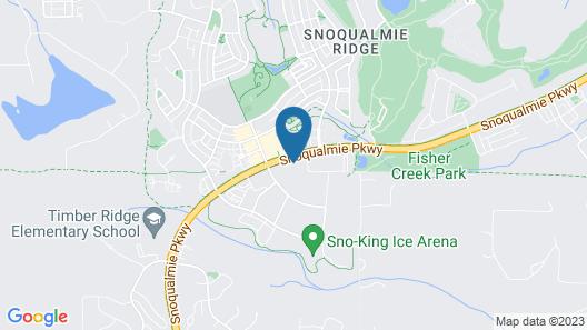 Snoqualmie Inn by Hotel America Map