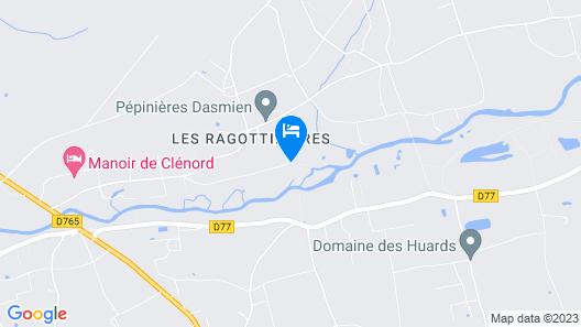 Le Moulin du Bas Pesé Map