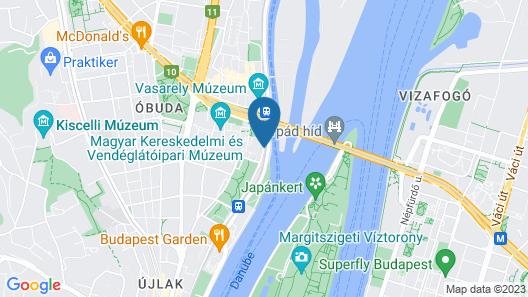 The Aquincum Hotel Budapest Map
