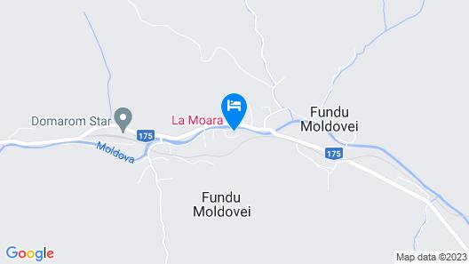Pensiunea La Moara Map