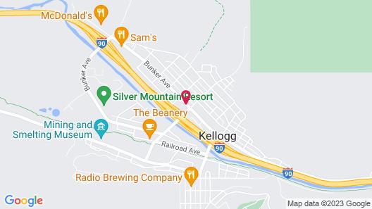 Trail Motel Map