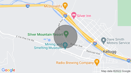 One Bed Lux Suite Mt View 373 Map