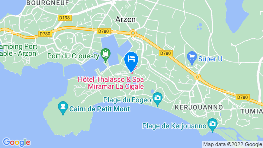 Miramar La Cigale Map
