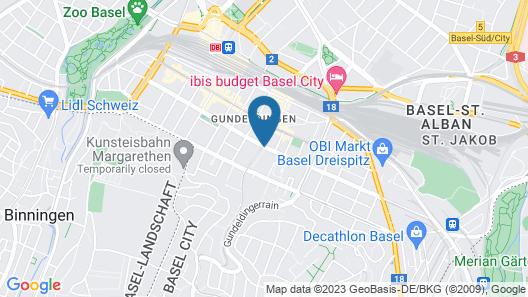 Basel Backpack Map