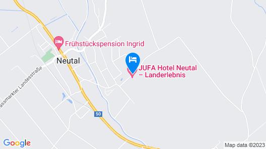 JUFA Hotel Neutal Map