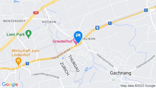 Hotel Greuterhof Map