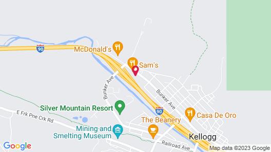Silver Inn Map