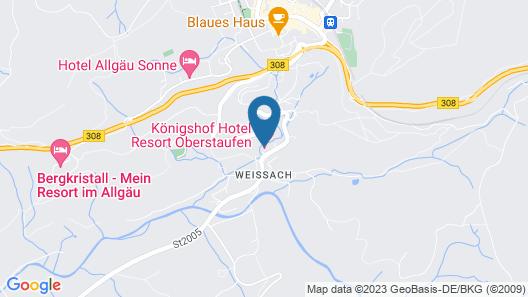 Königshof Hotel Resort Map