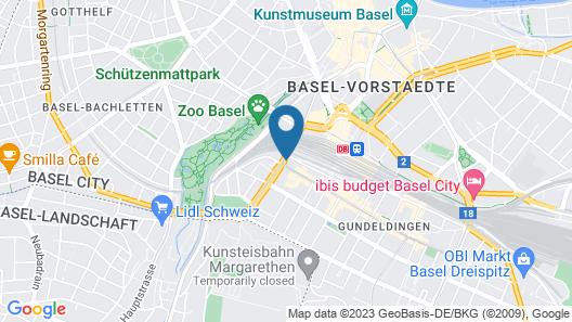 ibis Basel Bahnhof Map