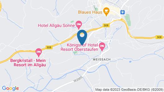 MONDI Resort Oberstaufen Map