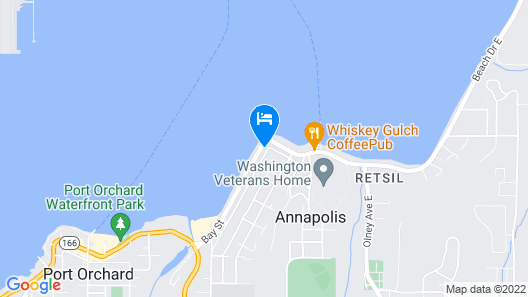 Family Home Near Mountains, Ocean, And Ferry Rides To Seattle. Map