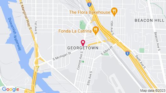 Georgetown Inn Map