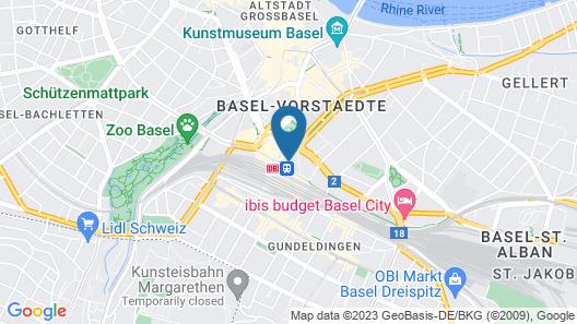 GAIA HOTEL Map