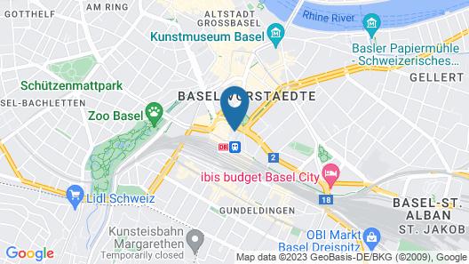 Hotel Euler Map