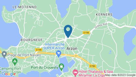 Résidence Pierre & Vacances - Port du Crouesty Map