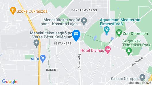 University Residence Map