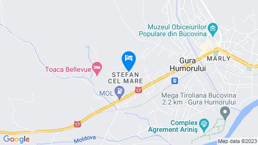 Bucovina Residence Map