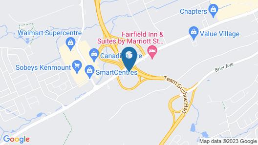 Sandman Signature St. John's Hotel Map