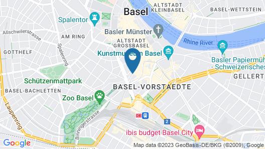 ART HOUSE Basel - Member of Design Hotels Map