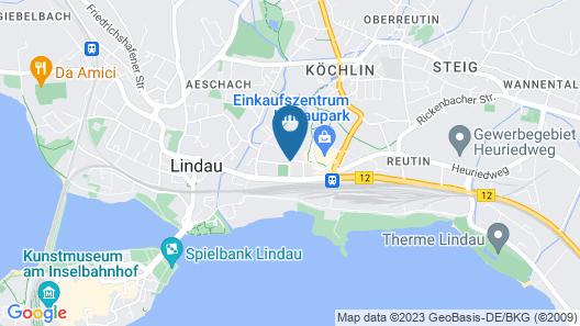 DJH Jugendherberge Lindau Map