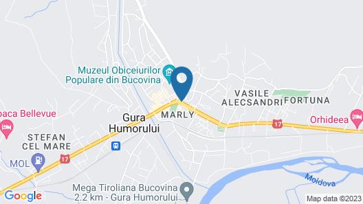 Best Western Bucovina-club De Munte Map