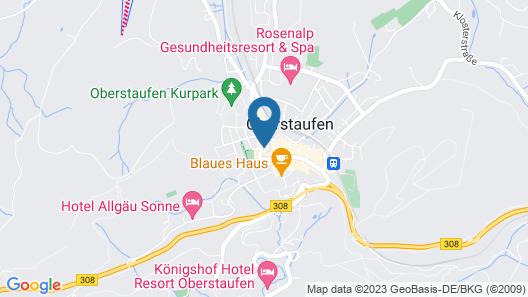 FeWo Chalet im Escha Map