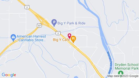 Wedge Mountain Inn Map