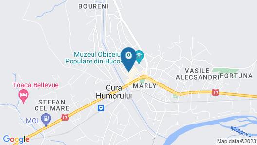 Hotel Buchenland Map