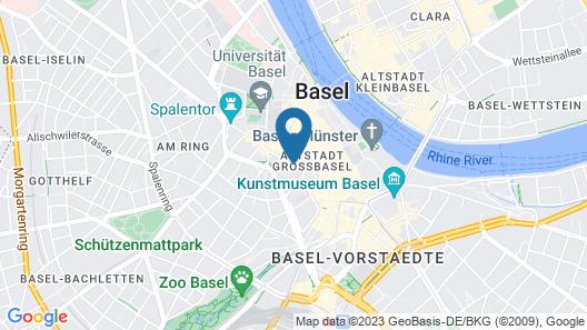 Der Teufelhof Basel Map