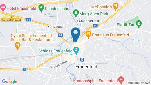Hotel Blumenstein Map
