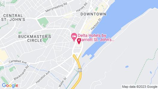 Jag Boutique Hotel Map