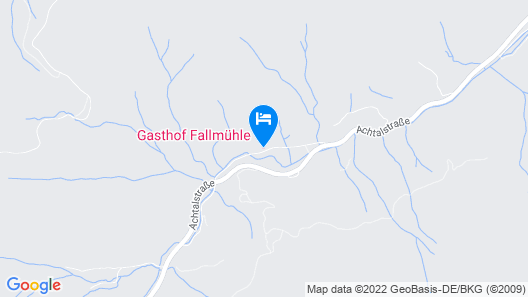 Gasthof Fallmuhle Map