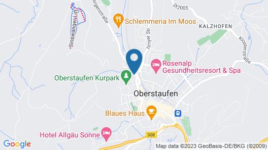 Lindner Parkhotel & Spa Map