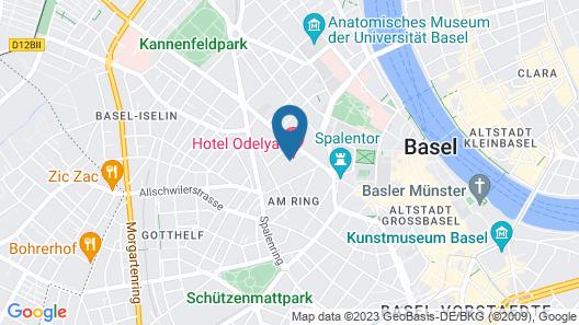 Hotel ODELYA Map