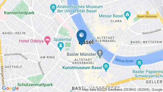 Hotel Märthof Basel Map