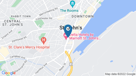 Delta Hotels by Marriott St. John's Conference Centre Map