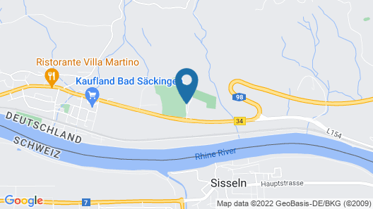 Sapia Hotel Rheinsberg Map