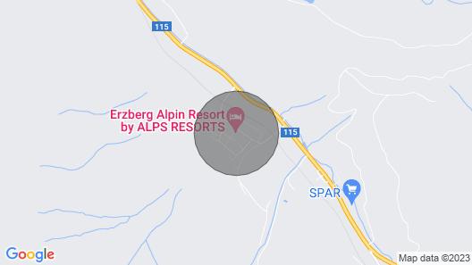 Holiday resort Erzberg Alpin Resort, Eisenerz Map