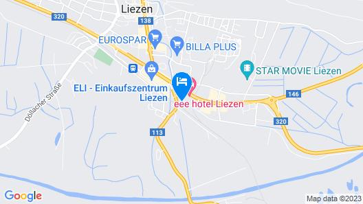 eee hotel Liezen Map
