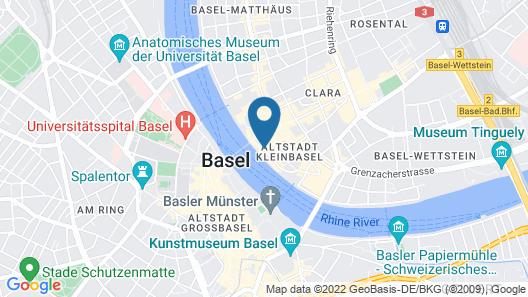 Krafft Basel Map